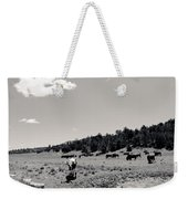 Bull With Buffalo Weekender Tote Bag
