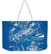 Bulletproof Patent Artwork 1968 Figures 18 To 20 Weekender Tote Bag