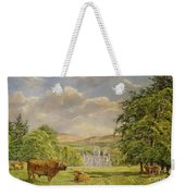 Bulls At Balmoral Weekender Tote Bag