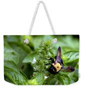 Bumble Bee Buzz Weekender Tote Bag