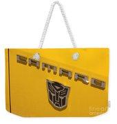 Bumble Bee Logo-7909 Weekender Tote Bag
