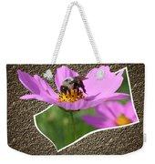 Bumble Bee Pop Out Weekender Tote Bag