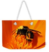 Bumblebee On Flower Weekender Tote Bag