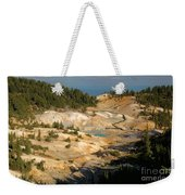 Bumpass Hell Weekender Tote Bag