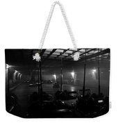 Bumper Cars In Fog Weekender Tote Bag