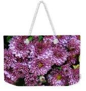 Bunch Of Chrysanths Weekender Tote Bag