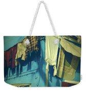 Burano - Laundry Weekender Tote Bag by Joana Kruse