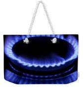 Burning Gas Weekender Tote Bag by Fabrizio Troiani