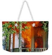 Burning House Weekender Tote Bag