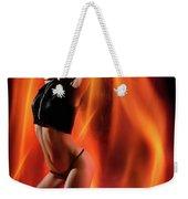 Burning In Flames Weekender Tote Bag