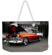 Burnt Orange Chevy Abstract Weekender Tote Bag