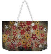 Burst Of Flowers Yellow And Red Weekender Tote Bag