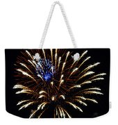 Bursting Out With Color Weekender Tote Bag by Sandi OReilly