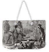 Burying The Dead After John Browns Weekender Tote Bag