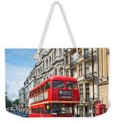 Bus On Piccadilly Weekender Tote Bag