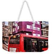 Bus Stop - La Coruna Weekender Tote Bag