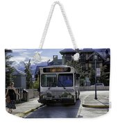 Bus To East Vail - Colorado Weekender Tote Bag
