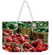 Bushels Of Green And Red Weekender Tote Bag