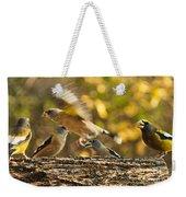 Busy Birds Weekender Tote Bag