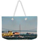 Busy Waters Weekender Tote Bag