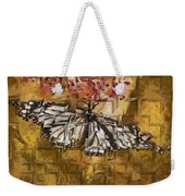 Butter Can't Fly Weekender Tote Bag