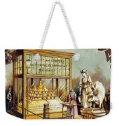 Butter Trade Card, C1880 Weekender Tote Bag by Granger