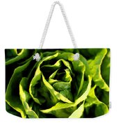 Buttercrunch Lettuce From Above Weekender Tote Bag