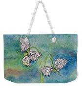 Butterflies Hanging Out Weekender Tote Bag