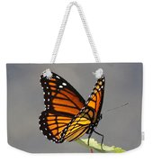 Butterfly - Sitting On The Green Weekender Tote Bag