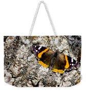 Butterfly Bark Weekender Tote Bag