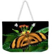 Butterfly Dryadula Heliconius Feeding Weekender Tote Bag