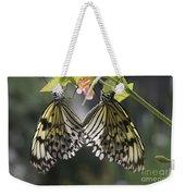Butterfly Duo Weekender Tote Bag
