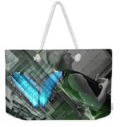 Butterfly Effect Weekender Tote Bag