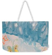 Butterfly Flight Weekender Tote Bag