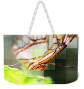 Butterfly Frosted Glass Weekender Tote Bag