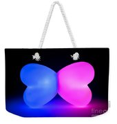 Butterfly Glowing Shape Weekender Tote Bag