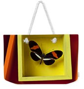 Butterfly In Box Weekender Tote Bag