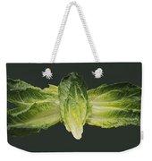 Butterfly Lettuce Weekender Tote Bag