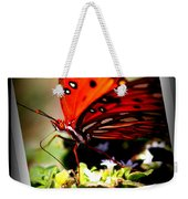 Butterfly Note Card Weekender Tote Bag