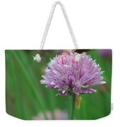 Butterfly On Clover Weekender Tote Bag