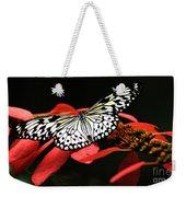 Butterfly On Red Weekender Tote Bag