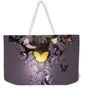 Butterfly Paradise Weekender Tote Bag
