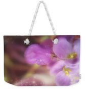 Butterfly Pea Wildflowers Weekender Tote Bag