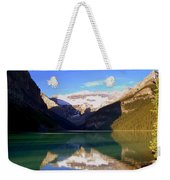 Butterfly Phenomenon At Lake Louise Weekender Tote Bag