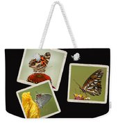 Butterfly Picture Page Collage Weekender Tote Bag