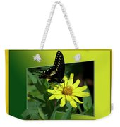 Butterfly Swallowtail 01 16 By 20 Weekender Tote Bag