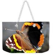 Butterfly Tai Chi On Lantana Luscious Lemonade Weekender Tote Bag
