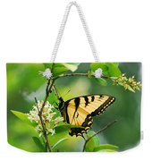 Butterfly Tiger Swallow Weekender Tote Bag