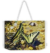 Butterlies At The Beach Weekender Tote Bag
