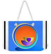 Buttock Cup Weekender Tote Bag